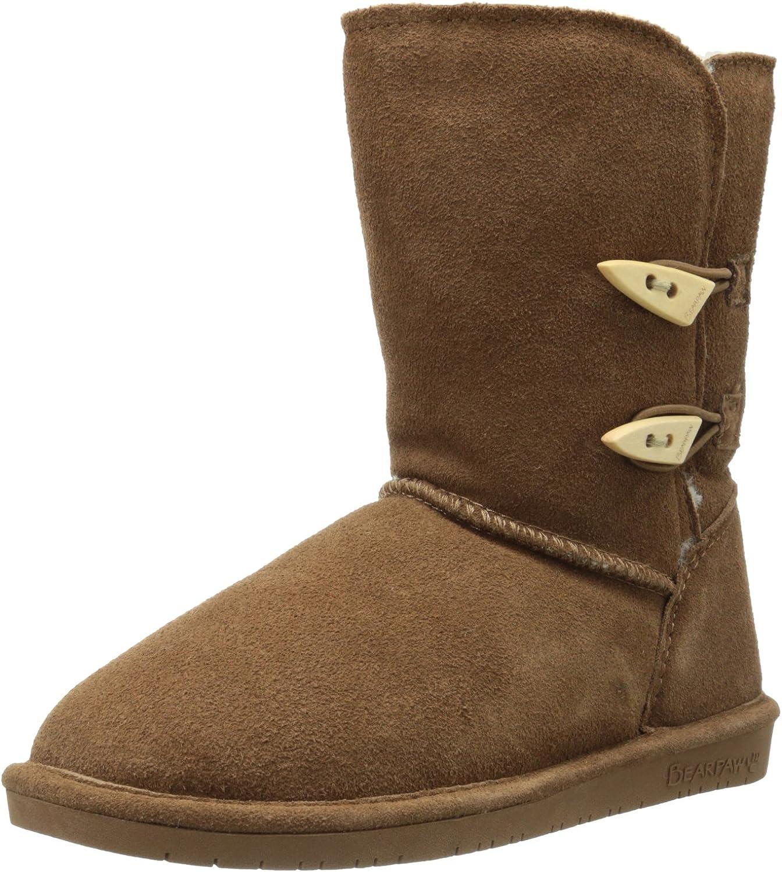 BEARPAW Women's Abigail Chocolate Boot