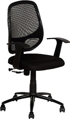 KOZY CORNER Mesh High Back Revolving Adjustable Office Chair with Wheels (Black)