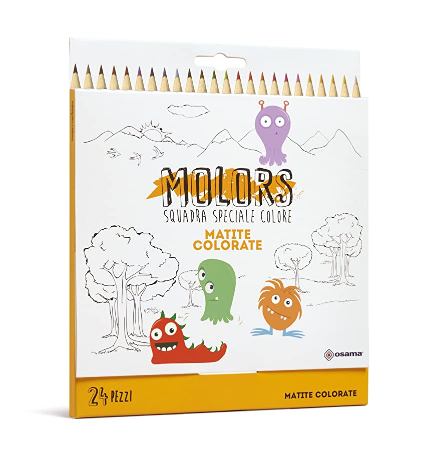 OSAMA OW 12027?Coloured Pencils, 24?Pieces