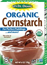 Let's Do Organic Cornstarch, 6 Ounce Boxes (Pack of 6)