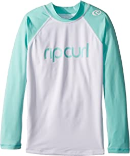 Rip Curl Kids - Jr. Dawn Patrol UV T-Shirt Long Sleeve (Big Kids)