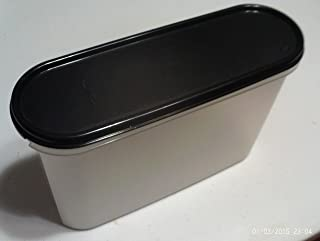 Tupperware Modular Mate Super Oval 3 with Black Seal