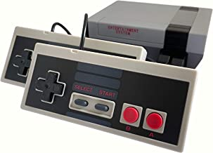 Classic Mini Retro Video Game Console with Preloaded 620 Games & 2 Controllers, Old School Video Games System for Kids, Bi...