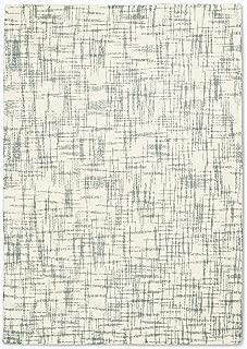 Calvin Klein Home Calvin Klein Tucson White and Sage Green 5'x8' Area Rug 5'3