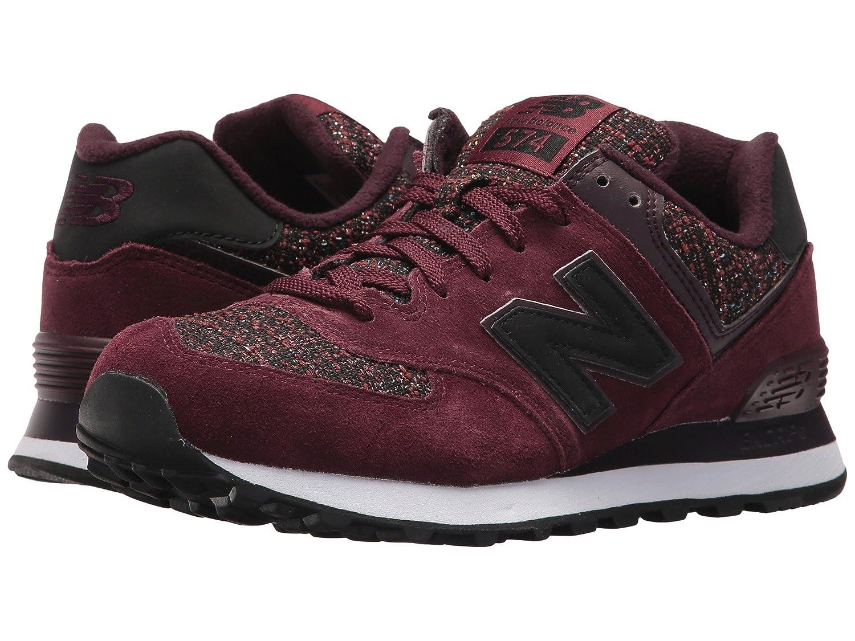 (ニューバランス) New Balance メンズランニングシューズ?スニーカー?靴 WL574v1 Chocolate Cherry/Black Rose チョコレート チェリー/ブラック ローズ 10 (28cm) D