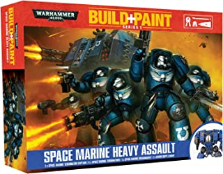 Warhammer 40k Build+Paint Space Marine Heavy Assault