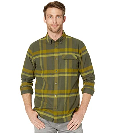 Helly Hansen Classic Check Long Sleeve Shirt (Forest Night Plaid) Men