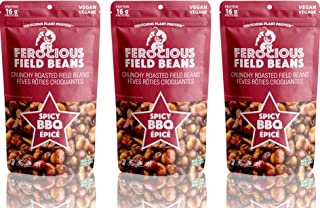 Ferocious Beans 3-Pack BBQ Flavor Protein Snack