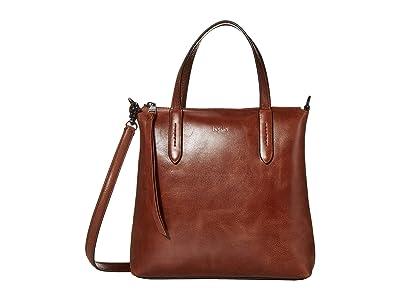 Botkier Highline Satchel (Caramel) Handbags