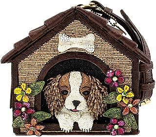 Ruff, Embellished Dog House Novelty Wristlet Handbag