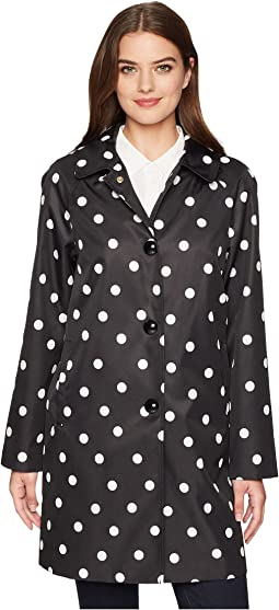 Kate Spade New York Deco Dot Rain Jacket
