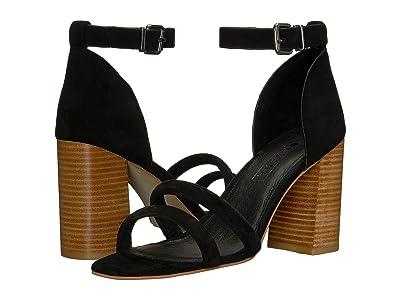 Sol Sana Xavier Heel (Black Suede) High Heels