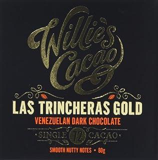 Willie's Cacao Venezuelan 72 Las Trincheras Nutty Notes 80 g (Pack of 4)