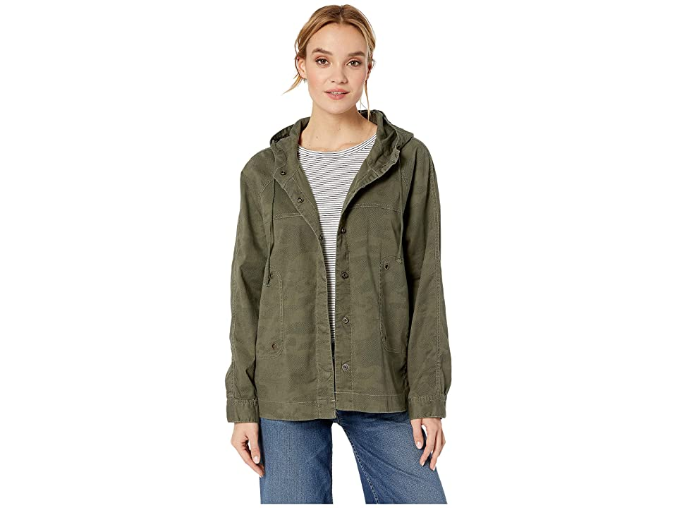 UNIONBAY Lexie Camo Jacket (Greek Olive) Women