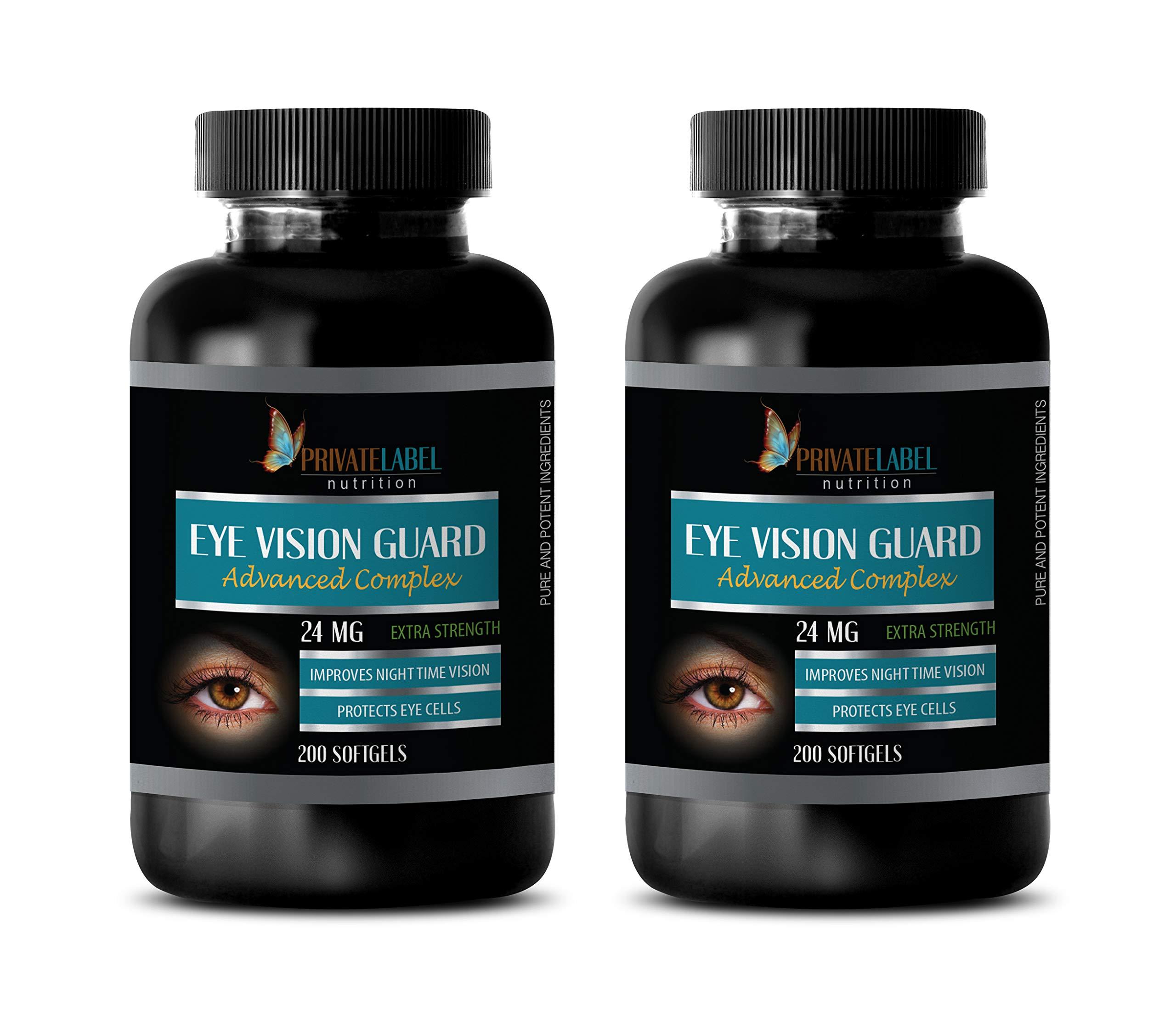 Eye Supplements zeaxanthin Lutein Bilberry