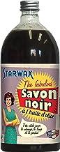 STARWAX FABULOUS Savon Noir à l'Huile d'Olive - 1L - Idéal pour Nettoyer et Dégraisser