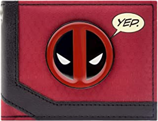 Marvel Chibi Deadpool Sucker Darts Blanc Portefeuille