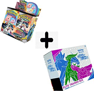 Pokemon Cosmic Eclipse Booster Box and Elite Trainer Box Bundle Sold by Dan123yal Toys+
