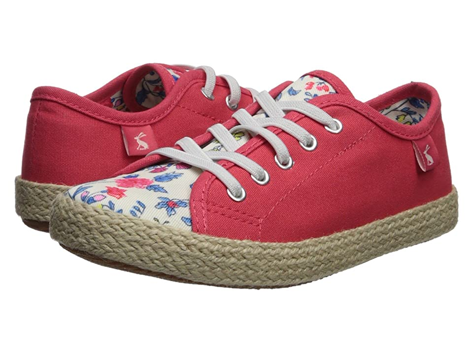 Joules Kids Play Espadrille (Toddler/Little Kid/Big Kid) (Beach Ditsy) Girls Shoes