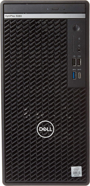 Dell OptiPlex 5000 5080 Desktop Computer - Intel Core i5 10th Gen i5-10500 Hexa-core (6 Core) 3.10 GHz - 8 GB RAM DDR4 SDRAM - 1 TB HDD - Tower - Windows 10 Pro 64-bit - Intel UHD Graphics 630 DDR4 SD