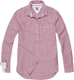 Tommy Hilfiger Shirts For Women L, Red & White