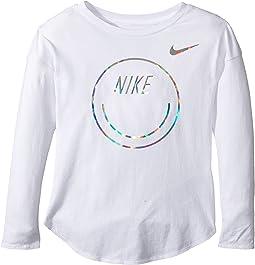 Nike Kids - Smiley Modern Long Sleeve Tee (Little Kids)