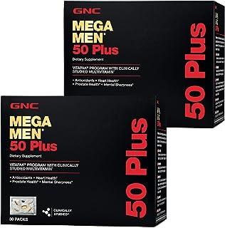 GNC Mega Men 50 Plus Vitapak Program - Twin Pack