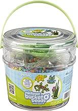 Perler PXA1069-7970 Bucket O' Beads Fun Fusion Fuse Bead Kit-Rainforest
