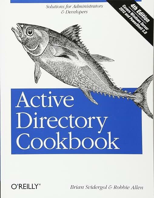 Active Directory Cookbook 4ed