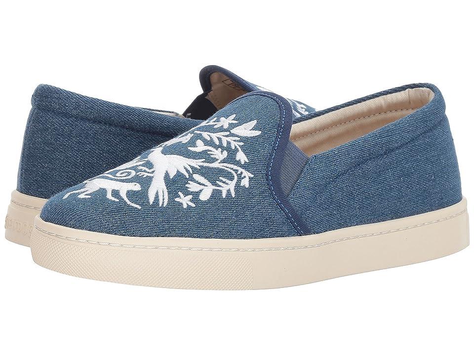 Soludos Otomi Slip-On Sneaker (Medium Denim) Women