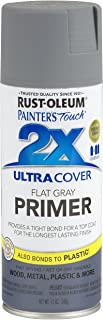 Rust-Oleum 249088 Painter's Touch 2X Ultra Cover, 12 Oz, Flat Gray Primer