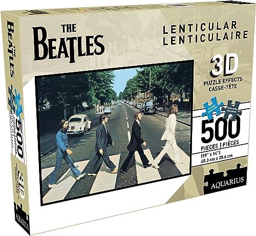 The Beatles 3D-Effekt Puzzle 500-teilig Abbey Road