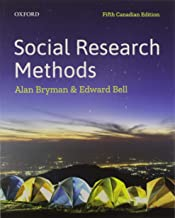 Social Research Methods: Fifth Canadian Edition
