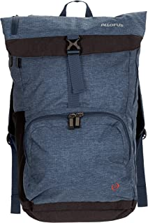 All of Us Cruiser Lightweight Unisex Travel Laptop Backpack Hiking Bag - Navy Blue