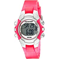 Timex Womens Marathon 50m Digital Night Light Resin Watch