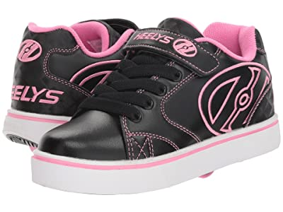 Heelys Vopel X2 (Little Kid/Big Kid) (Black/Pink) Girls Shoes