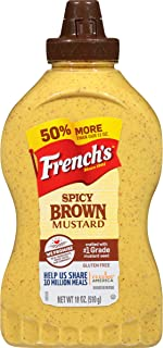 French's Spicy Brown Mustard Squeeze Bottle, 18 oz
