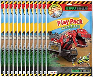 Dreamworks DinoTrux Grab and Go Play Packs (Pack of 12)