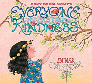 Mary Engelbreit 2019 Deluxe Wall Calendar: Everyone Understands Kindness - coolthings.us