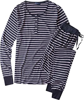 Noble Mount Twin Boat Super Soft Pajamas for Women - Cotton Jersey Pajama Set with Jogger Pajama Pant