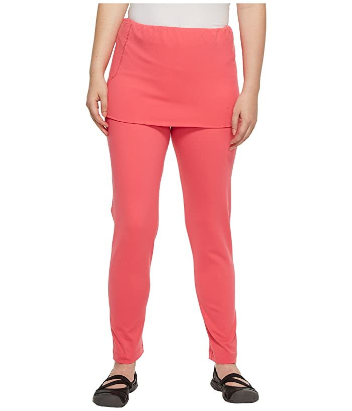 Independence Day Clothing Co Pull-On Skirted Leggings Reversible Front/Back (Pink Dragon) Women