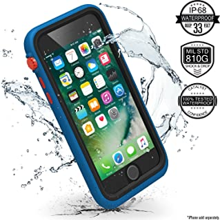iPhone 7 Waterproof Case, Shock Proof, Drop Proof by Catalyst for Apple iPhone 7 with High Touch Sensitivity ID (Blueridge/Sunset)