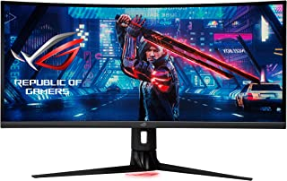 "ASUS ROG Strix 34"" Ultra-wide Gaming Monitor (XG349C) - UWQHD (3440 x 1440), 180Hz, 1ms, Extreme Low Motion Blur Sync, 13..."