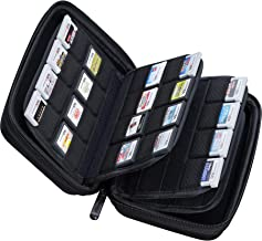 Butterfox 64 Game Card Storage Holder Hard Case for 3DS, 2DS and DS - Black