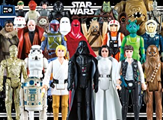 Star Wars - Vintage Action Figures - 1000 Piece Jigsaw Puzzle