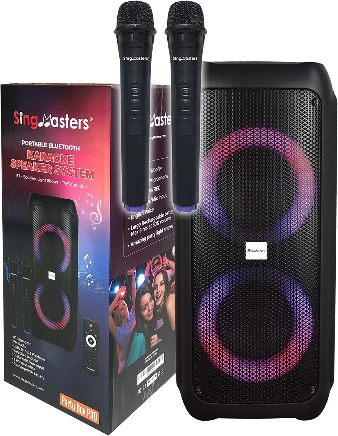 SingMasters Max 44% OFF Max 43% OFF Party Box Karaoke Machine Adults Speaker for Kids