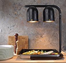 Hendi Portique Chauffe-plat, avec 2 Lampes infrarouges, Aluminium, Noir