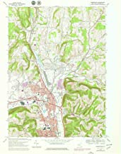 YellowMaps Horseheads NY topo map, 1:24000 Scale, 7.5 X 7.5 Minute, Historical, 1978, Updated 1979, 27 x 22.1 in