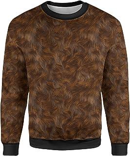 Rainbow Rules Wookie Fur Star Wars Inspired Mens Sweatshirt