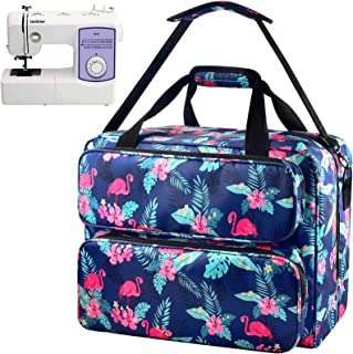 Sewing Machine Case - Universal Travel Tote Bag Contain Sewing Kits Compatible with Singer, Brother, Janome Sewing Machine...